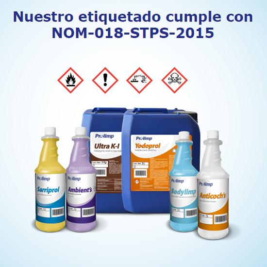 PROPORCIONAMOS 01 Somos Fabricantes de Limpiadores Químicos