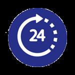 24 HORAS BAÑOS LIBRES